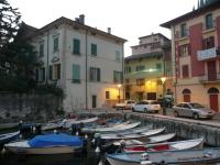 Palazzo sul Garda as evening approaches