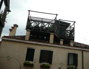 Typical Venice altana
