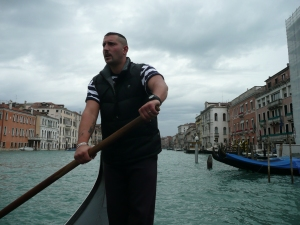 Traghetto ride in Venice