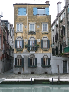 Cannaregio district in Venice