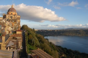 Castel Gandolfo Papal Palace and Lago Albano