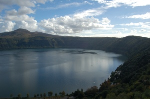 Lago Albano from Hotel Castel Gandolfo