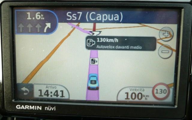 Italy GPS