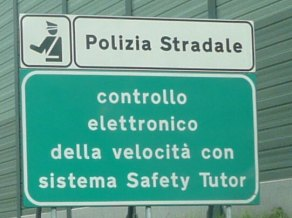 Italy speed warning